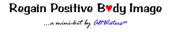 Regain Positive Body Image Banner