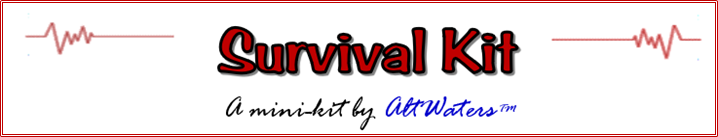 Survival Kit Banner