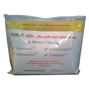 First Aid the safe and natural way
